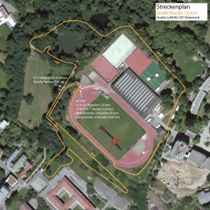 Strecke Crosslauf 2015